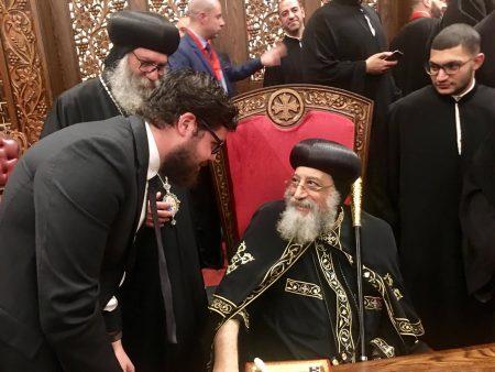 Претставник од Австралиско – сиднејската епархија при МПЦ – ОА се сретна со Коптскиот поглавар, Неговата светост папата г. Тавадрос II