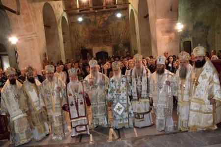 """Централна прослава во Охрид по повод големиот и значаен јубилеј: """"50 години возобновена автокефалност на Охридската архиепископија како Македонска Православна Црква"""""""