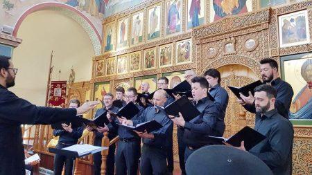 """Делегација од Австралиско – сиднејската епархија присуствуваше на премиерата на духовниот концерт """"Цела ноќ бдение"""""""