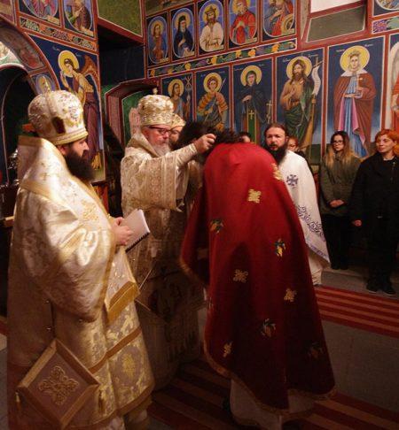 Игуменот Гаврил (Галев) беше произведен во Архимандритски чин