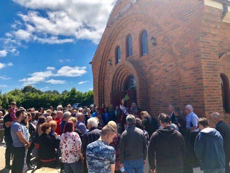 """Голем собир во манастирот """"Свети Климент Охридски"""" во Кинг Лејк, Мелбурн (Викторија)"""