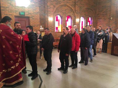 """Божествена литургија во манастирот """"Свети Климент Охридски"""" во Кинг Лејк, Мелбурн (Викторија)"""
