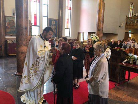 """Божествена литургија во храмот """"Свети Димитриј Солунски"""" – Волонгонг, Сиднеј (Нов Јужен Велс)"""