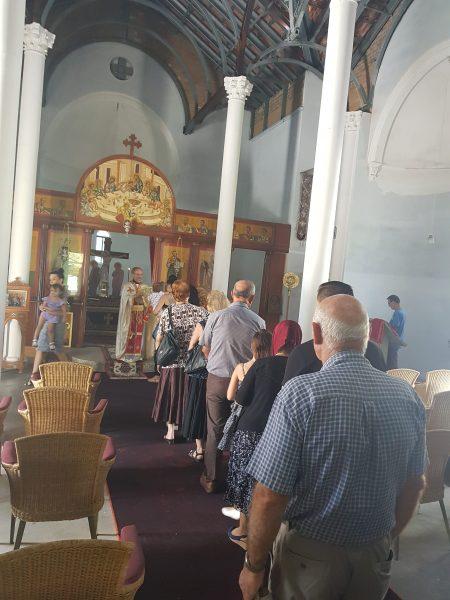 """Света Божествена Литургија во храмот """"Свeта Недела"""" во Голд Кост (Квинзланд)"""