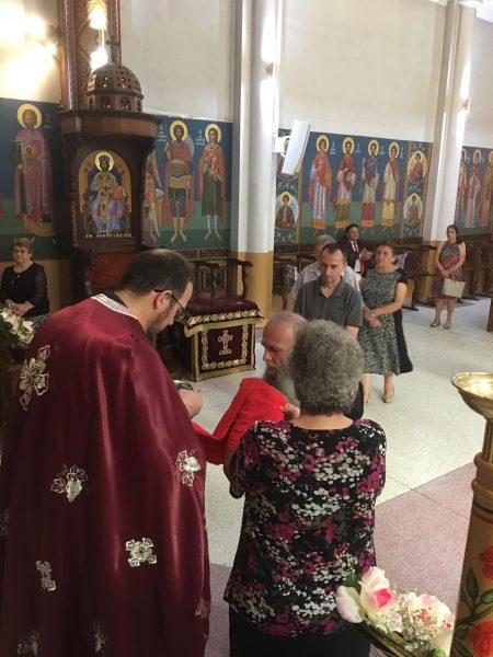 """Воскресение Христово (3 ден) во храмот """"Света Петка"""" во Рокдејл, Сиднеј (Нов Јужен Велс)"""